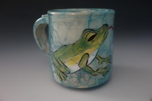 Froggy Dreams, Carol Culbertson, Mug, $32